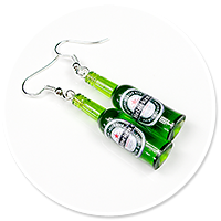 earrings bottles of beer no. 3